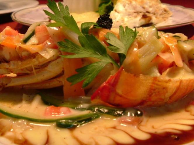 魚料理 ロブスター