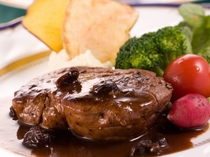 肉料理 ヒレステーキ