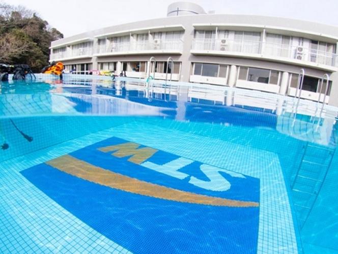 ダイビング用プール