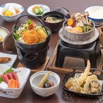 *料理(松)/当館グレードアップ+品数最大の贅沢コース♪当館人気の釜飯からデザート、お刺身まで豊富!