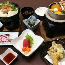 *とくとくプラン/季節により具材を変えた炊きたての釜飯をご用意しております☆