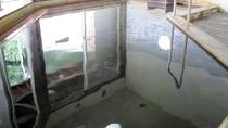*大浴場一例/塩分と水酸化鉄を含み、体が良く温まると評判の相間川温泉。