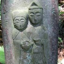 道祖神/旧倉渕村は114基の道祖神が各所に点在しています。