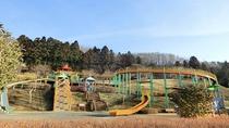 *せせらぎ公園/県内最大級のローラー滑り台、徒歩10分の所にアスレチック・川遊びができる公園あり!