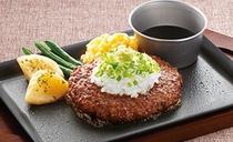 【料理一例】あっさり、わさび醤油ハンバーグ!