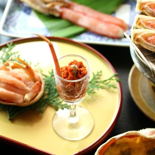 セコガニ料理