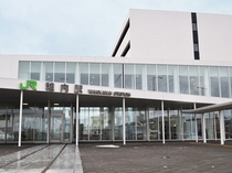 【JR稚内駅】徒歩6分の立地です。