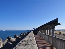 【北防波堤ドーム】土木学会選奨土木遺産、北海道遺産に選定されています。