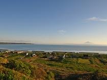 【利尻島】朝とはまた違う顔を見せてくれます。