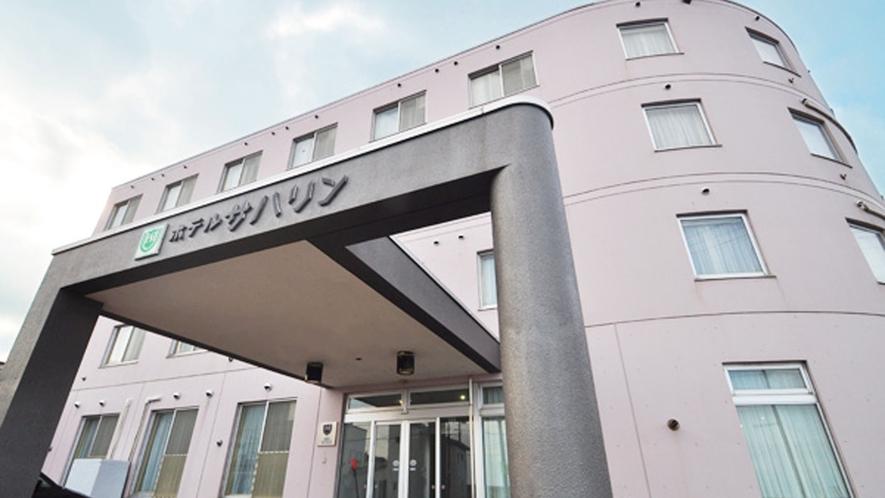 【ホテル外観】JR稚内駅から徒歩6分。便利な立地です