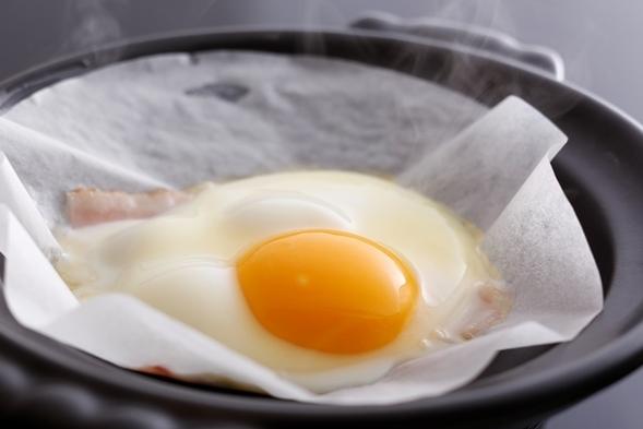 【1泊朝食】朴葉みそ+好評卵料理はその場で調理!?