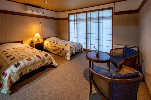 【カップルプラン】 二人で過ごす露天風呂付き和洋室