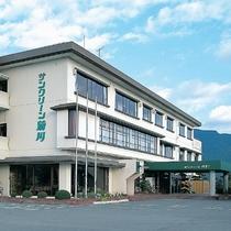 【外観】下関市営の公共の温泉旅館です