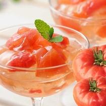 下関を代表するブランドトマト、垢田のトマトゼリー