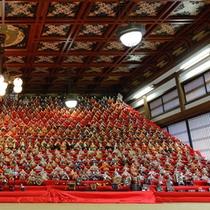 *可睡斎(かすいさい)ひなまつりは、例年1/1~3/15に開催されています。拝観料は500円