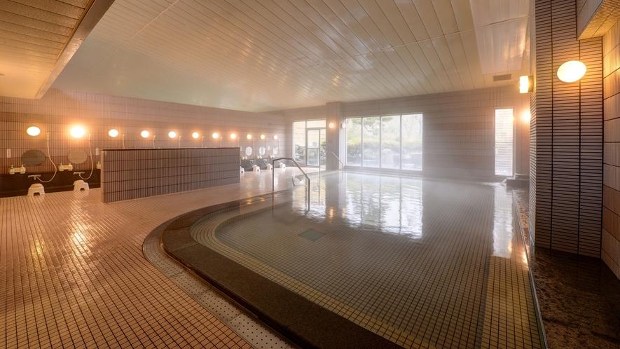 *大浴場/広く大きいのでゆったりと入浴いただけます。