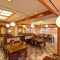*お食事処/100席ございます。大きなグループも一緒にお食事可能!