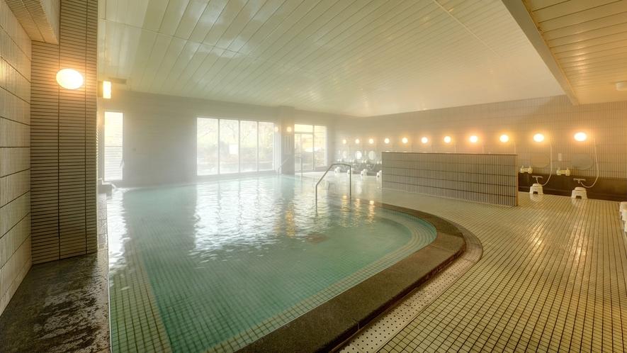*大浴場/大理石で作った贅沢な浴場です。