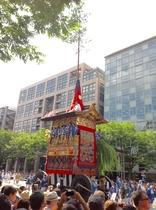 祇園祭、先祭 7/17巡行。Gionmatsuri former parade, fantastic