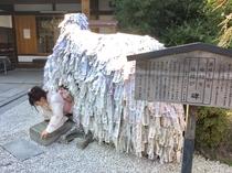 「縁切り縁結び」安井金比羅宮、碑を潜って…!!徒歩7分. Yasuikonpiragu shrine