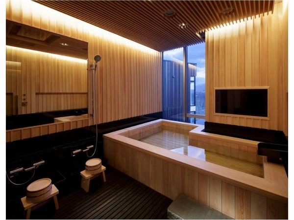 ペントハウス 檜風呂
