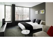 主寝室 キングベッド(一例)