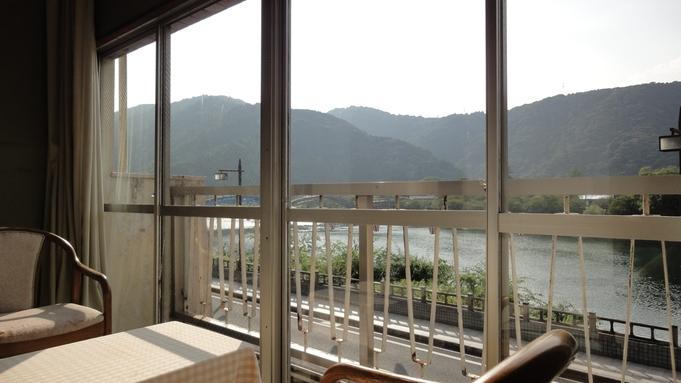 【1泊朝食付】朝はほっこり家庭的な和朝食。錦川河畔と錦帯橋もすぐ近く!
