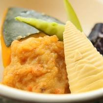 旬野菜の煮物*優しい味が染み込んだ日本の味をどうぞ♪