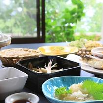 お料理イメージ*山の景色を感じながら頂くお食事は格別です!