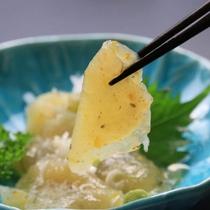 刺身コンニャク*本来の味を楽しむ手作りコンニャク♪
