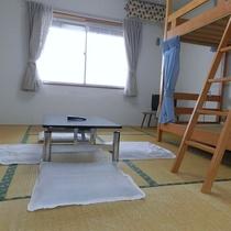 【眼下に広がる日本海】勿論こちらのお部屋も♪ドミトリー男性用
