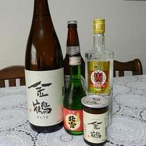 お酒・ビールお選びいただけます。