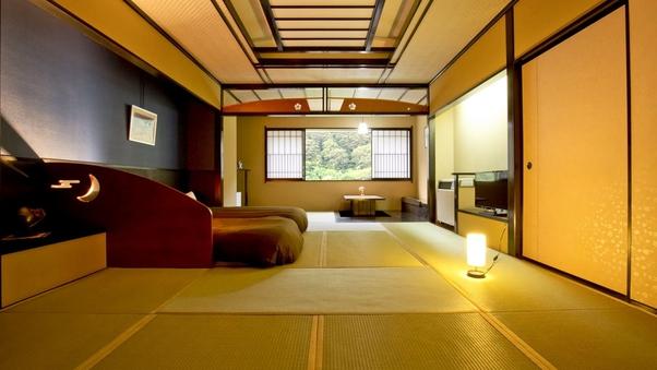 【本館】<角部屋>リバービュー和室ベッド/バス付・禁煙