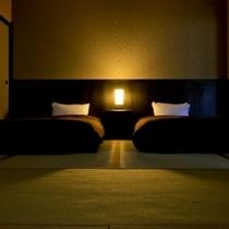 本館・和室ベッドルーム一例