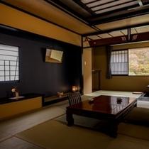 本館・角部屋和室一例