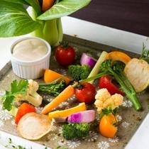 地産野菜のバーニャカウダ
