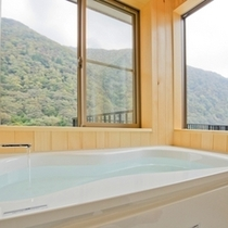 別館・牧水庵 ~月山・羽黒・鳥海~最上川を望む風呂