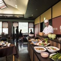 【朝食例/郷土料理をビュッフェスタイルで】開催日限定のビュッフェ