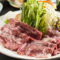 【夕食/とろけるような舌触りの山形牛例】
