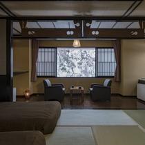 本館・和室ベッドルーム例