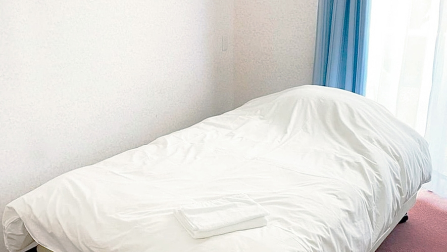 【客室】セミダブル※全室禁煙 ベッドイメージ