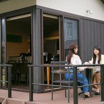 立山別邸「四季彩」専用ラウンジをご用意しております。