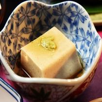 手作り胡麻豆腐