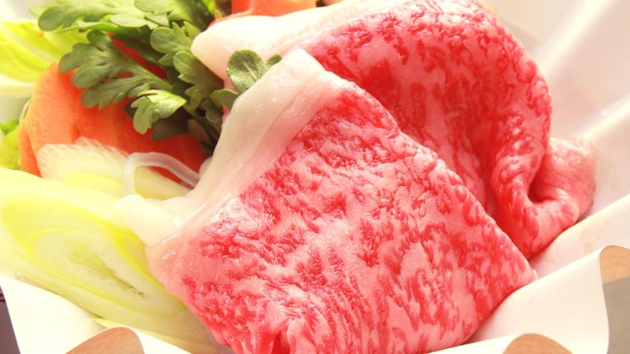 【ご夕食一例・山形牛のすき焼き】