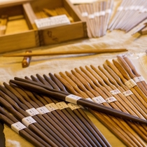 お箸作り体験、自分のお箸を作ってみる!