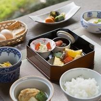 【朝食一例】九州の食材で目覚める朝