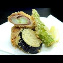 京丹後野菜を使った料理