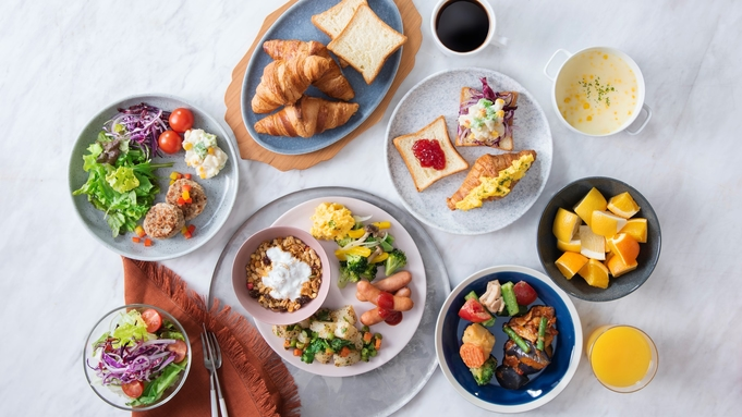 【ウィークリープラン(6連泊以上)朝食半額!】大浴場付ホテルで快適長期ステイ 朝食付