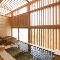 【207:柚香菊(ゆうがぎく)】客室露天風呂