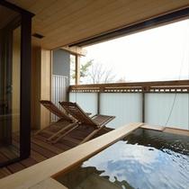 【202:野薊(のあざみ)】客室露天風呂